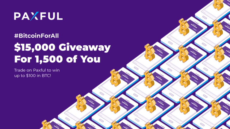 Paxful Celebrates the Real Reasons People Use Bitcoin Everyday With #BitcoinForAll Giveaway – Sponsored Bitcoin News