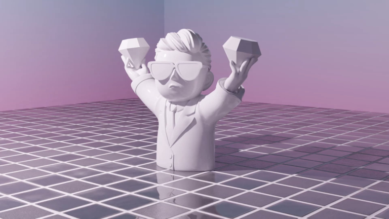 I taught myself Blender just to make this