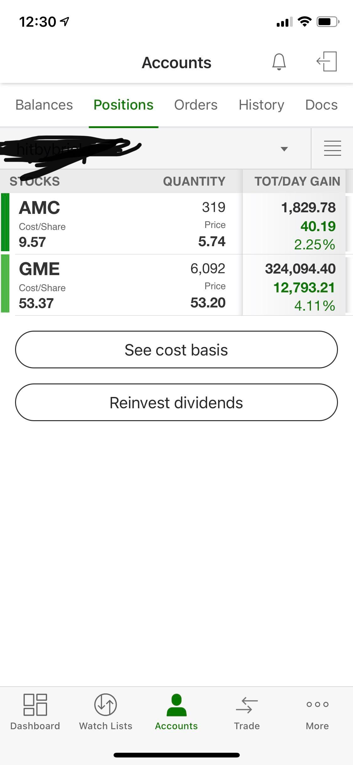 I'm 19 years old and just bought 5,400 more $GME. Let's get to $5K!