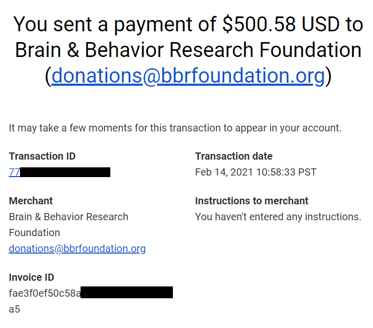 Said I would donate back in december and never got around to it, had gains and losses, so here we are. :)