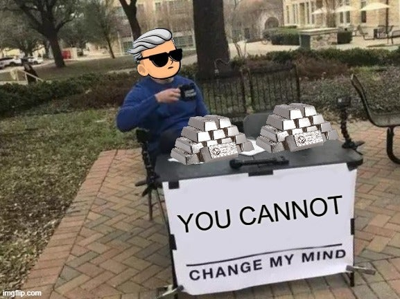 YOU CANNOT CHANGE MY MIND