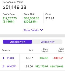 Diamond f*cking hands. Been holding at -80% for 4 years, and in the last 3 days, I've made my initial investment 3 times over.