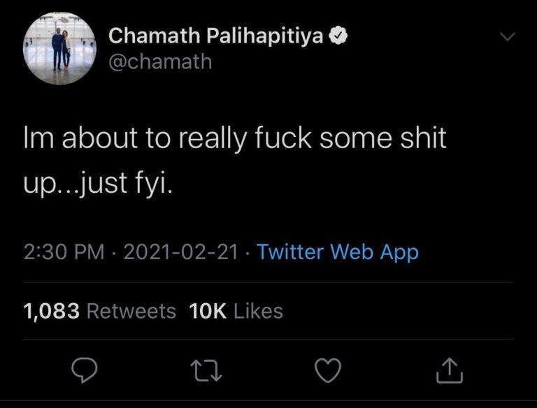 Chamath 🤝 GME??
