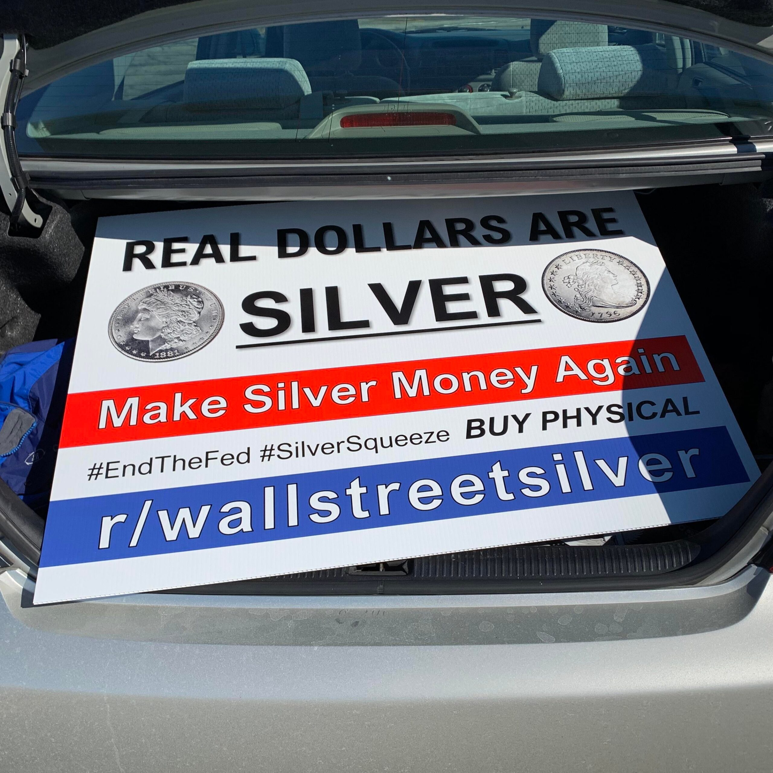 My fellow apes… Had to fork over 70 Federal Reserve Bloats for this baby! (You KNOW EXACTLY how much silver that could have got me.) WORTH IT! To be continued…