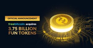 FreeBitco.in Acquires 3.75B FUN Tokens to Promote Transparency in iGaming