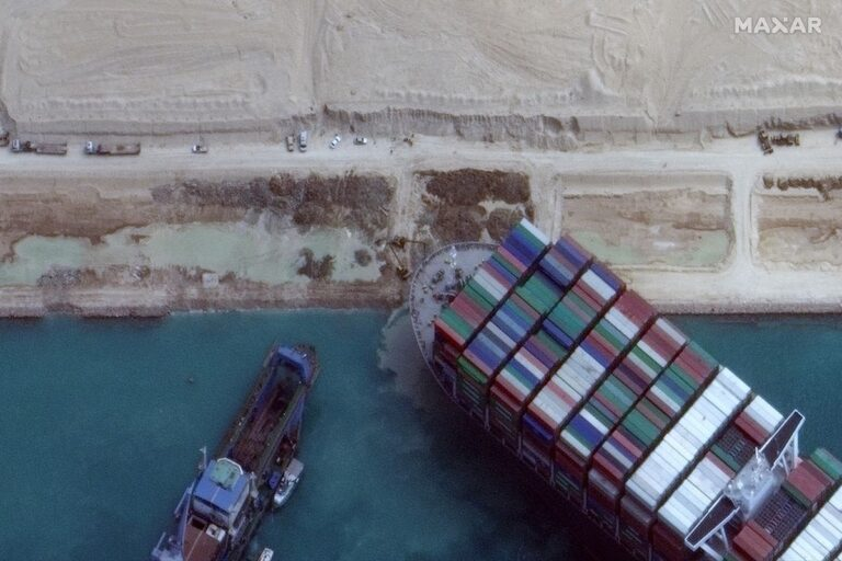 Giant Vessel in Suez Canal, Is Now Afloat!