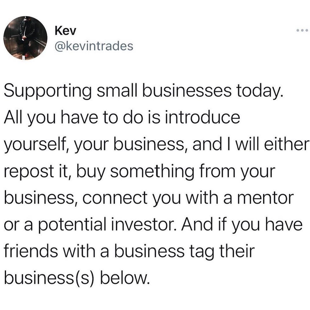 Happy Hump Day. Let's see these businesses…