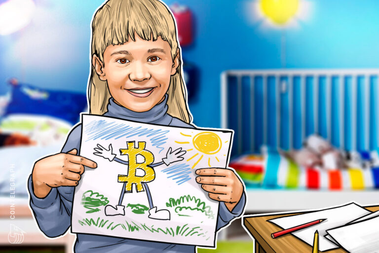 3-year-old Bitcoin educator interviews Michael Saylor