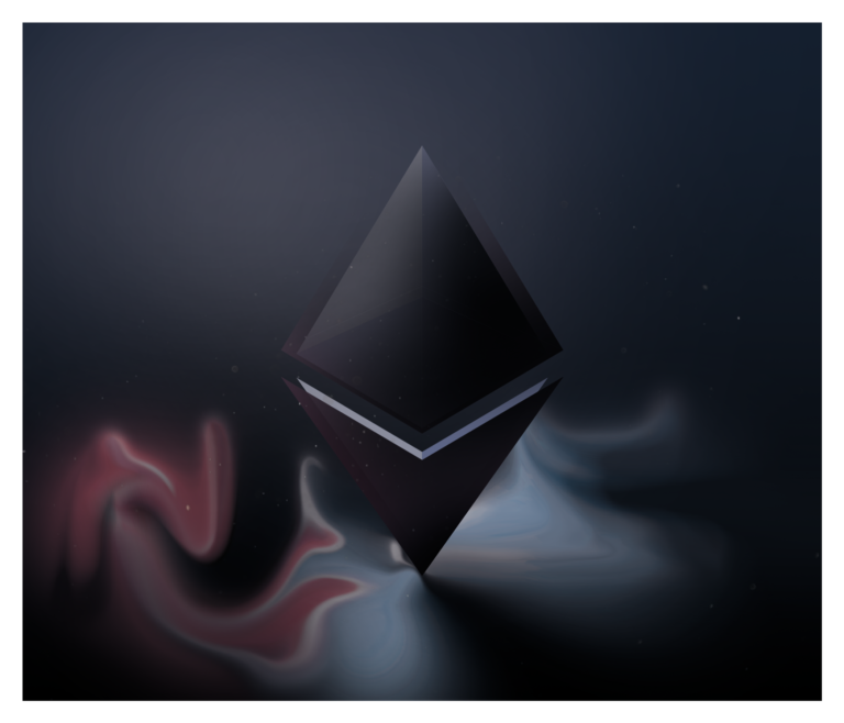 Just some nice Ethereum art to celebrate the gains. Not an NFT! Just made it for fun :)