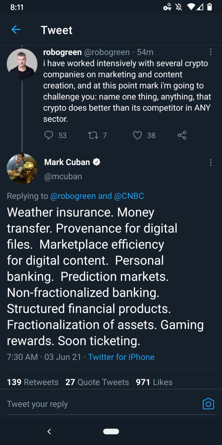 Mark mic dropping