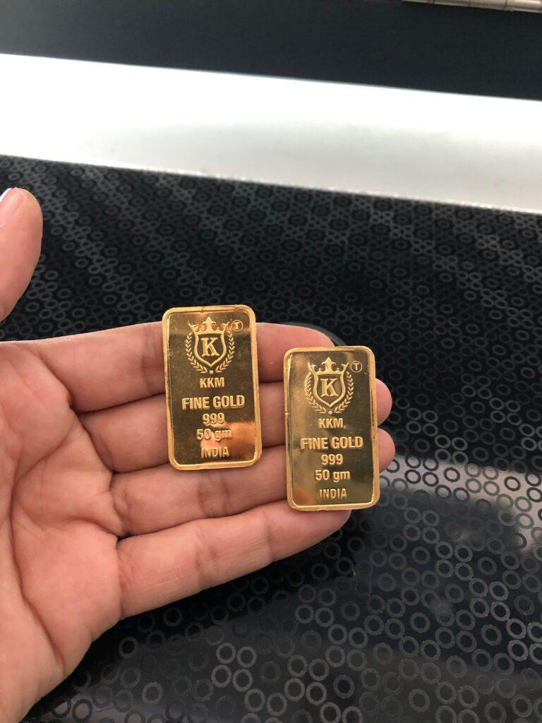 Gold stake