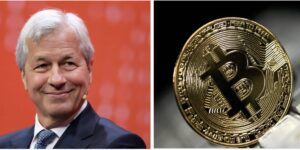 """JPMorgan just became the first big bank to give retail wealth clients access to cryptocurrency funds. Yes, that JPM, James Dimon's bank, the """"i will fire every employee who touches Crypto"""" bank."""