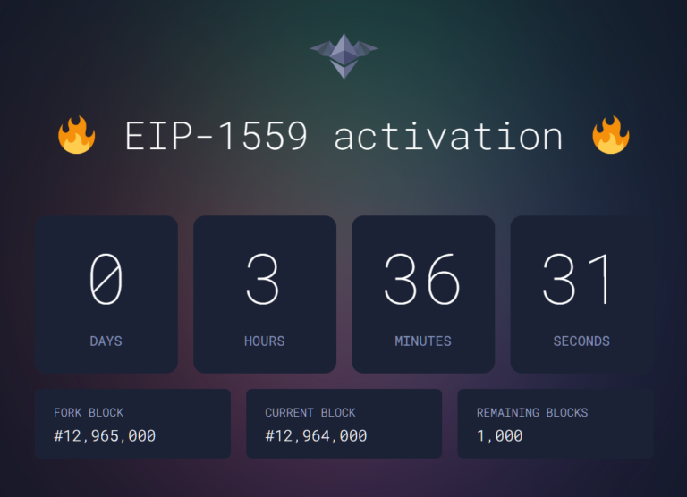 Only 1,000 blocks remaining until the London hardfork! We are so close!